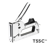 T55C All Chrome Staple Gun Tacker