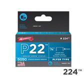 """224 P22 1/4"""" 6mm"""
