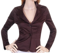 Two-Button Long Sleeve Blazer