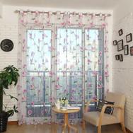Dolce Mela Sheer Curtain Panels DMC478