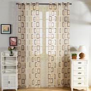 Modern Sheer Curtain Panels - Nice DMC480