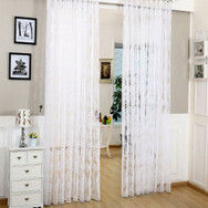 Sheer Curtain Panels - Patras DMC481