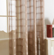 DMC485 Dolce Mela Sheer Curtain Panels -  Golden Isles