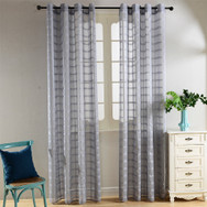 Dolce Mela Sheer Curtain Panels - Palm Bay - DMC489