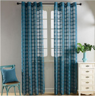Dolce Mela Sheer Curtain Panels - Santa Cruz - DMC490