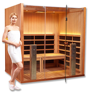 Clearlight Full Spectrum 4 Person Yoga Sauna