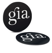 Gia Cell Chip Flat Silver