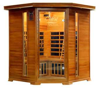 Vital Sauna Elite 3-4 Person Corner 120V