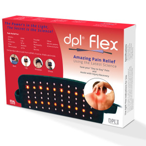 dpl Flex Pad – Pain Relief Near Infrared LED Light Therapy