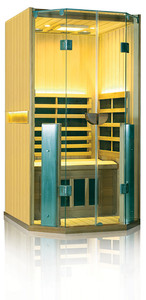 Clearlight Full Spectrum Sauna 1 Person Basswood