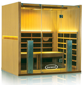 Clearlight Full Spectrum 4 Person Yoga Sauna Basswood