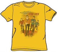 STAR TREK ANIMATED CHARACTERS YOUTH TEE SHIRT