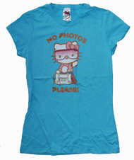 Hello Kitty No Photos Please Girly Vintage T-Shirt by Mighty Fine