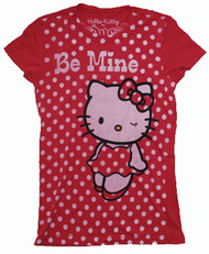 Hello Kitty Be Mine Girly Vintage T-Shirt by Doe