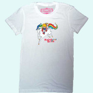 Vintage Rainbow Brite Girly T-Shirt in White