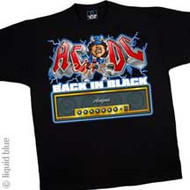 AC/DC Back in Black Amp Mens T-Shirt