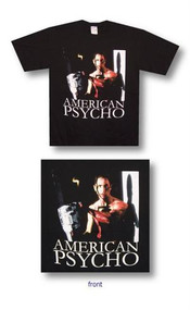 American Psycho Chainsaw Mens T-Shirt