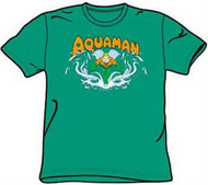 Aquaman Splash Mens T-Shirt