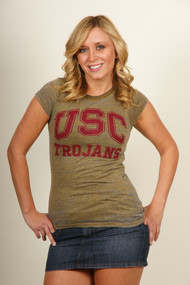 USC Trojans Vintage Style T-Shirt by Chaser