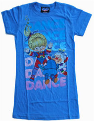 Rainbow Brite Dance Dance Dance Womens T-Shirt by Junk Food Clothing