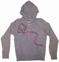 Hello Kitty Musical Notes Girls Hoodie by Junk Food Clothing
