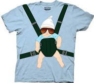 The Hangover Baby Carrier Mens T-Shirt