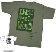SPONGEBOB SQUAREPANTS PLANKTON RULE THE WORLD YOUTH TEE SHIRT