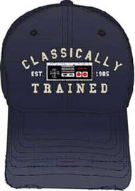 NINTENDO CLASSICALY TRANED NAVY ADJUSTABLE CAP
