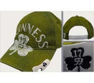 GUINNESS BOTTLE OPENER OLIVE HAT