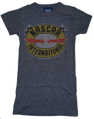 NASCAR International Triblend Womens T-Shirt by Junk Food Clothing