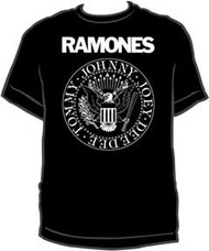 The Ramones Presidential Seal Mens T-Shirt