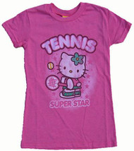 Hello Kitty Tennis Girls T Shirt by Junk Food Clothing