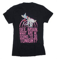 Animaniacs The World Pinky & The Brain Juniors Vintage T-Shirt