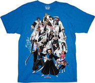 BLEACH UNIVERSE MENS T-SHIRT