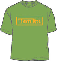 Distressed Tonka Logo Mens T-Shirt
