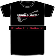Strum A Guitar Mens T-Shirt