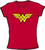 DC Comics Wonder Woman Distressed Juniors T-Shirt