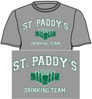 Many people are on this team on St. Patrick's Day