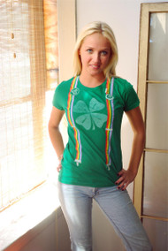 Irish Rainbow Suspenders T-Shirt