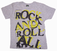 Chaser Vintage Style Rock and Roll All Night Toddler T-Shirt