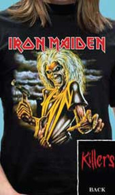 Iron Maiden Killers Mens Tee Shirt