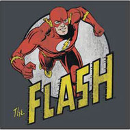 DC Comics The Flash Run Flash Distressed Juniors Tee Shirt