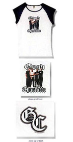 Good Charlotte Band Photo Cap Sleeve Junior Baby Doll Tee Shirt