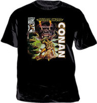 Conan The Barbarian The Savage Sword Mens T-Shirt