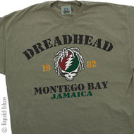 Grateful Dead Dreadhead Jamaica Mens Tee Shirt
