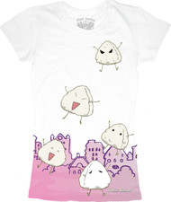 Fruits Basket Riceballs Vintage Style Juniors Tee Shirt