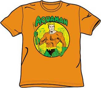 Aquaman Mens Tee Shirt