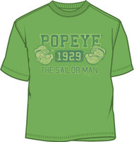 Popeye 1929 Mens Lightweight Tee Shirt