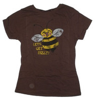 Let's Get Bizzy Juniors Vintage Style Tee Shirt