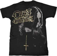 Ozzy Osbourne Cross Mens Tee Shirt